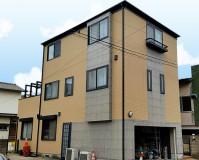 東京都江戸川区3階建住宅の外壁塗装・屋根塗装工事の施工事例