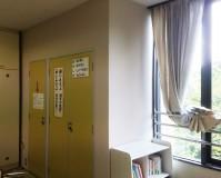 東京都足立区弘道交流施設の内部塗装工事の施工事例