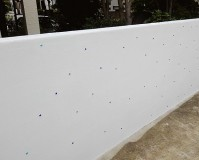 千葉県柏市戸建住宅の擁壁塗装工事の施工事例