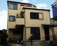 千葉県船橋市3階建戸建住宅の外壁塗装・屋根塗装工事の施工事例