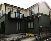 東京都葛飾区2階建住宅の外壁塗装・屋根塗装工事の施工事例