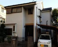 東京都足立区モルタル外壁2階建戸建住宅の外壁塗装・屋根塗装工事の施工事例