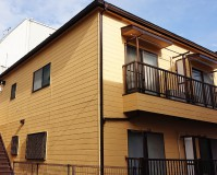 東京都中野区2階建アパートの外壁塗装・屋根塗装工事の施工事例