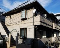 東京都板橋区2階建アパートの外壁塗装・屋根塗装工事の施工事例
