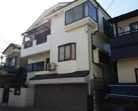 埼玉県川口市3階建住宅の外壁塗装・付帯部塗装工事の施工事例