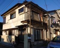 埼玉県川口市2階建2棟アパートの外壁塗装・付帯部塗装工事の施工事例