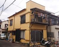 東京都足立区扇2階建住宅の外壁塗装・屋根塗装工事の施工事例