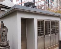 東京都港区外壁コンクリート打ち放しの塗装工事・防水工事の施工事例