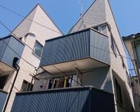 東京都大田区3階建住宅の外壁塗装・屋根塗装工事の施工事例