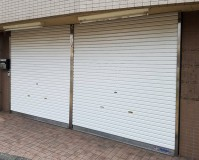 東京都杉並区店舗シャッター塗装工事の施工事例