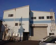埼玉県八潮市3階建工場のガイナ外壁塗装工事の施工事例