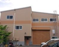 埼玉県八潮市工場の外壁塗装工事の施工事例