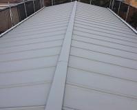 東京都江戸川区3階建工場の屋根塗装・鉄部塗装工事の施工事例