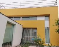 東京都世田谷区3階建住宅の外壁塗装・屋上防水工事の施工事例
