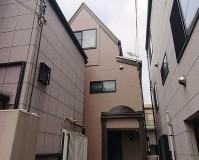 東京都北区3階建住宅の外壁塗装・屋根塗装工事の施工事例