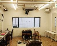 東京都渋谷区美容室の内部塗装工事の施工事例