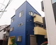 東京都足立区3階建住宅の外壁塗装・屋根塗装工事の施工事例
