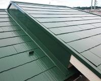 東京都日野市2階建住宅の屋根塗装・鉄部塗装工事の施工事例