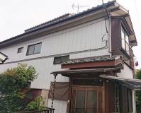 埼玉県八潮市2階建住宅の外壁塗装・木部塗装工事の施工事例