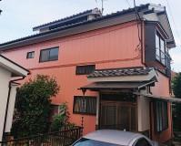 埼玉県八潮市2階建住宅の外壁塗装・瓦屋根漆喰工事の施工事例