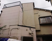 東京都足立区2階建住宅の外壁塗装・屋上防水工事の施工事例