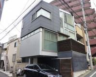 東京都文京区3階建住宅の外壁塗装・外壁サイディング張替工事の施工事例