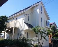 東京都世田谷区2階建て住宅の外壁塗装・屋根塗装工事の施工事例