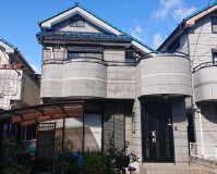東京都足立区2階建住宅の外壁塗装工事の施工事例