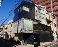 東京都文京区2階建住宅の外壁塗装・外壁サイディング張替工事の施工事例