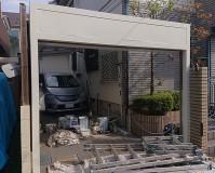 東京都練馬区戸建住宅シャッターBOXのサビ止め塗装工事の施工事例