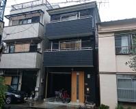 東京都墨田区3階建住宅の外壁塗装・屋根塗装工事の施工事例