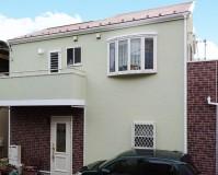 神奈川県横浜市2階建住宅の外壁塗装・屋根塗装工事の施工事例