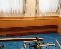 東京都足立区保育園本棚造作工事の施工事例