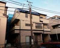 東京都荒川区の外壁塗装・屋根塗装工事の施工事例