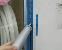 東京都足立区幼稚園サッシシーリング打ち替え工事(20200204)