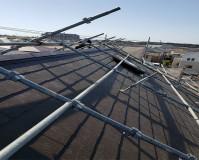 千葉県印西市2階建住宅の屋根葺き替え工事例