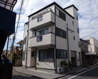 東京都足立区3階建住宅の外壁塗装施工事例(20200324)