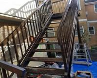 東京都品川区アパートの鉄骨階段サビ止め塗装工事の施工事例(20200325)