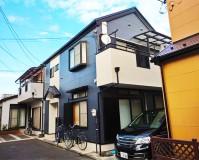 東京都江戸川区住宅の外壁・防水・シール・カバー工事の施工事例(20200415)