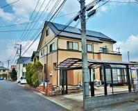 千葉県印西市2階建住宅の外壁塗装の施工事例(20200408)