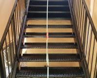 東京都杉並区アパートの鉄骨階段サビ止め塗装工事の施工事例(2020/06/12)