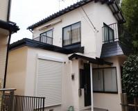 千葉県船橋市2階建住宅の外壁塗装の施工事例(20200817)