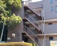 神奈川県横浜市アパートの外階段・廊下長尺シート工事の施工事例(20200826)