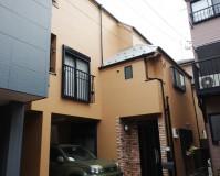 東京都葛飾区二階建住宅の外壁塗装・屋根塗装工事の施工事例(20200902)