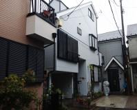 東京都足立区3階建住宅の外壁塗装、サイディング張替え工事(20201005)