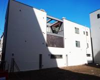 東京都台東区3階建て一般住宅の外壁塗装の施工事例(20201026)