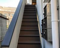 埼玉県所沢市アパートの鉄骨階段長尺シート・塗装工事の施工事例(20201027)