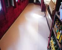 東京都足立区飲食店のクッションフロア―、塗装工事の施工事例(20201110)