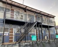 千葉県佐倉市アパートの鉄骨階段サビ止め塗装工事の施工事例(20201208)