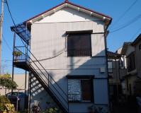 東京都葛飾区アパートの外壁塗装・鉄部塗装の施工事例(20201207)